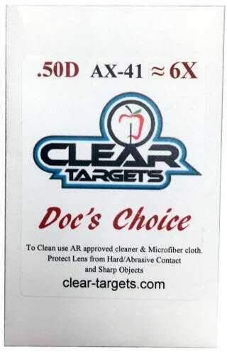 Axcel Docs Choice Lens X-41 6x Model: Ax41-ctdc-6x