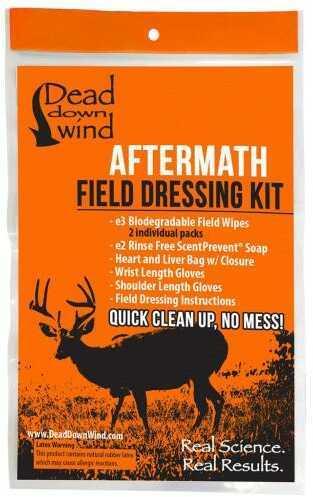 Dead Down Wind Aftermath Field Dressing Kit Model: 20100