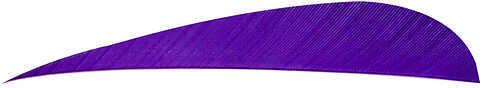 TRUEFLIGHT MFG COMP INC Trueflight Feathers Parabolic Solid Color 2.5 LW White 100/pk. 8405