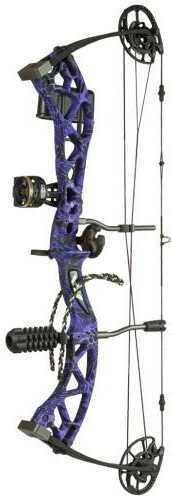 Martin Archery Inc. Martin Carbon Mist Package Purple 23.5-27 in. 50 lb. RH Model: M607VIA705R