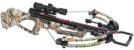 Parker Bows PARKER COMPOUND BOWS INC Parker Tornado F4 Crossbow Package w/Illum Multi-Reticle Scope 165lb. Vista PAR1209