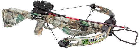 Parker Bows PARKER COMPOUND BOWS INC Parker Challenger Crossbow Package w/4X Multi-Reticle Scope 125-150lb Camo PAR1222