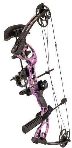 G5 Outdoors Quest Radical Bow Pkg. RT AP Purple 17.5-30in 70lb LH Model: RA.PKG.L.25.40-PL