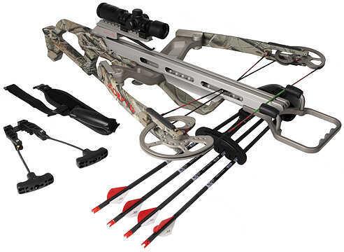 SCORPYD CROSSBOWS Scorpyd Ventilator Crossbow Package w/SR Scope 150lb RT Hardwoods SCO1203