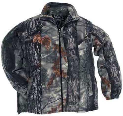 Longleaf Camo Longleaf Fleece Jacket AT-Brown Camo Windproof 172ATBL
