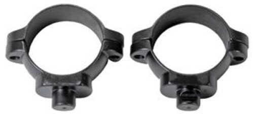 "Leupold Rings 1"" Std Low Gun Metal Gray"