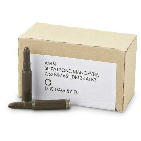308 Win / 7 62 Nato Blanks Box of 50 - 11221503