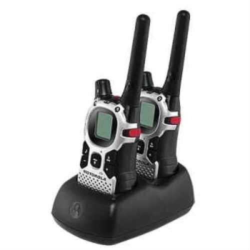 Motorola 2-Way Radios 27 Mile Range 2-Way Radio Emergency Alert, NOAA, VOX, Flashlight MJ270R