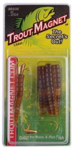 Leland's Lures Leland Trout Magnet - Jumbo Pack 50pk Brown Md#: TM50-B