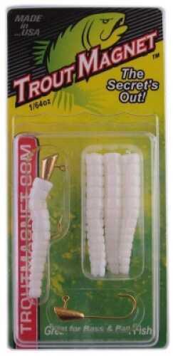 Leland's Lures Leland Trout Magnet - Jumbo Pack 50pk White Md#: TM50-W