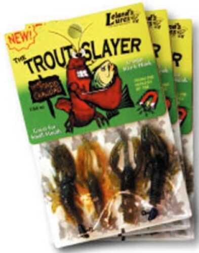 Leland's Lures Leland Trout Slayer 6pc 4 Bodies 2 Heads Md#: TSLA