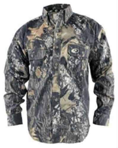Mossy Oak / Russell Mossy Oak Woodsman Shirt Infinity Camo-Cotton Twill 0007-M2DM