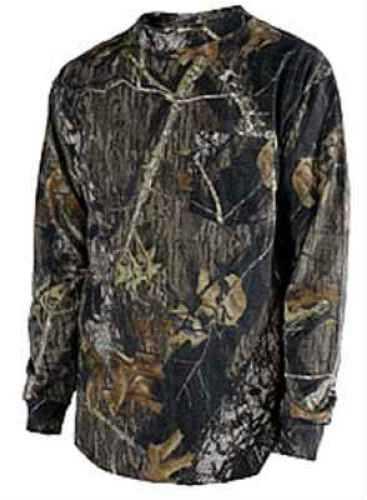 Mossy Oak / Russell Mossy Oak T-Shirt - L/S Infinity Camo Size XXL 0020-M2DXXL