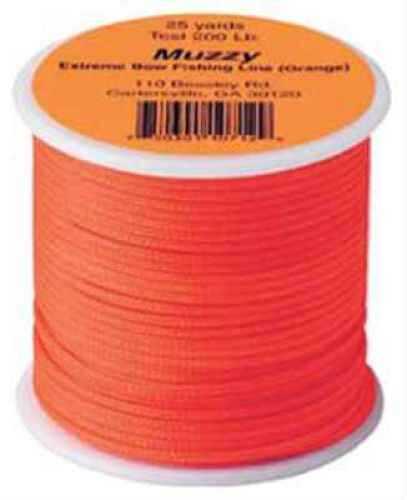 Muzzy Archery Muzzy Bowfishing Line Ext Bright Orange 200# 75ft 1071-O