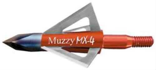 Muzzy Archery Muzzy Broadheads MX-4 100 Grains 4-Blade 3pk 209-MX4-3