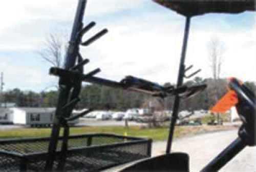 Miller MFG Miller Golf Cart Gun Carrier 2-Gun Horizontal For Golf Cart 221