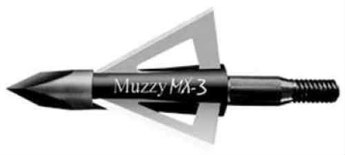 Muzzy Archery Muzzy Broadheads MX-4 100 Grains 3-Blade 3pk 225-MX3-3