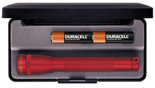 Maglite Mini 2-Cell AA Flashlight Red, Presentation Box