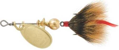 Mepps / Sheldon's Mepps Dressed Aglia 1/12oz Gold Brown Md#: B0ST G-BR