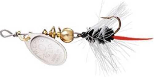 Mepps / Sheldon's Mepps Wooly Worm Spin Flies 1/12oz Black w/Silver Blade Md#: B0W S-BK