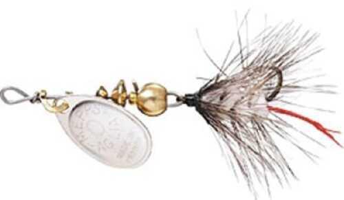 Mepps / Sheldon's Mepps Wooly Worm Spin Flies 1/12oz White w/Silver Blade Md#: B0W S-W