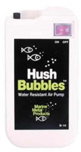 Marine Metal Hush Bubbles Aerator 2/D-Cell Md#: B-16