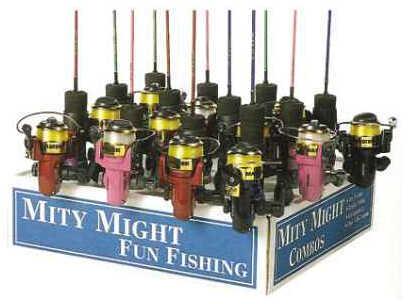Master Fishing Master Roddy Hunter Mini Combo Spin 2ft 1pc Asst Colors DN170DP