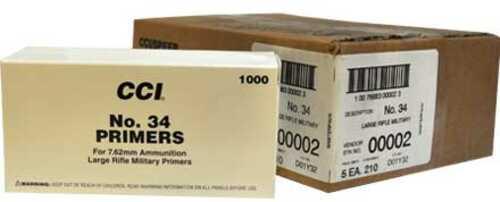 CCI #34 7.62mm & 30-06 NATO Spec Primer 5000 Count Case