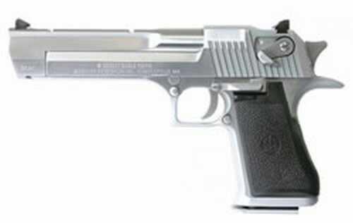 "Magnum Research Desert Eagle 44 Magnum 6"" Barrel Brushed Chrome with Muzzle Brake Semi Automatic Pistol DE44BCMB"