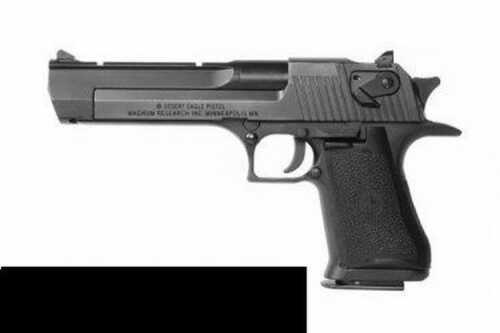 "Magnum Research Mr Desert Eagle 44 Magnum 6"" Barrel Black With Muzzle Brake Semi Automatic Pistol DE44MB"