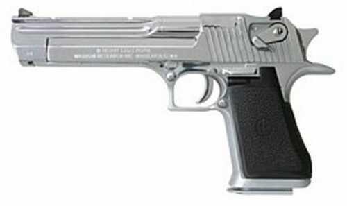 "Magnum Research Desert Eagle 44 Magnum 6"" Barrel 8 Round Poly Chrome With Muzzle Brake Semi Automatic Pistol DE44PCMB"