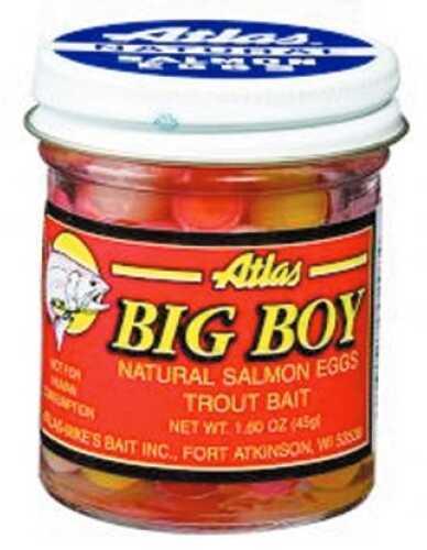 Atlas / Mike's Bait Atlas-Mikes Bait Atlas Big Boy Salmon Egg 1.6oz Light-Dry Pack 201