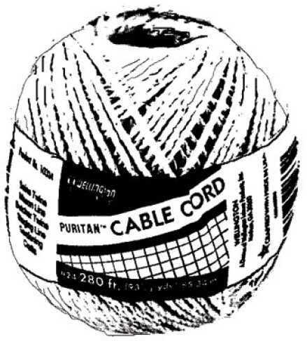 American Maple Cotton Twine 4oz sz 24 12 per bag 24
