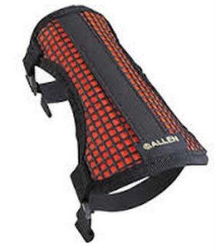 Allen Cases Allen Mesh Armguard Black/Hot Orange 2-Strap Model: 42016
