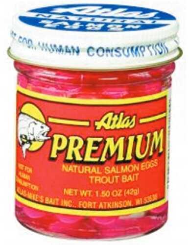 Atlas / Mike's Bait Atlas-Mikes Bait Atlas Premium Salmon Egg 1.5oz Orange 72023