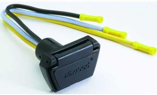 Attwood Trolling Motor Connecter Female 12V/24V 3 Wire 10Ga 7648-7