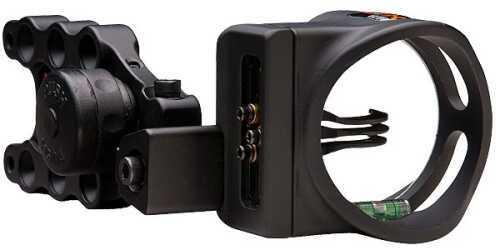 Apex Gear Apex Bow Sight Accu-St Pro 3 3-Pin .019 Black AG1513BKS