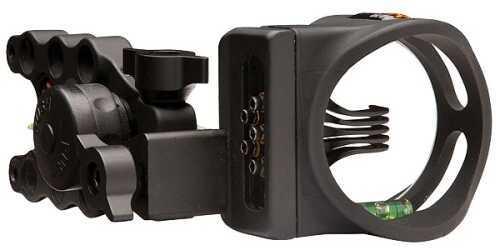 Apex Gear Apex Bow Sight Accu-St Pro 5 5-Pin .019 Black AG1515BKS