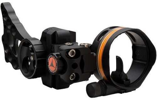 Apex Gear Apex Bow Sight Covert 1 1-Pin Black W/Light