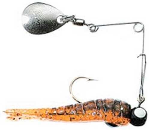 Bett's Betts Split Tail Spin nickel 1/50 12/cd Orange Craw Gl 020ST-44N