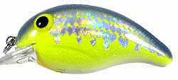 Bandit Lures Bandit Double Deep Diver 1/4 Chartreuse Fleck Md#: 300-D66