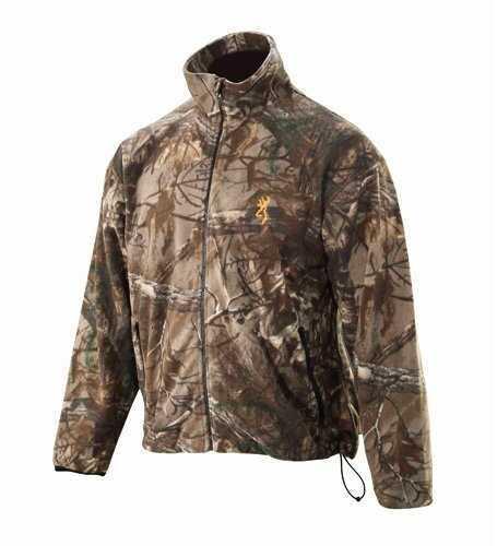 Browning Wasatch Jacket Fleece Real Tree Xtra 2xl