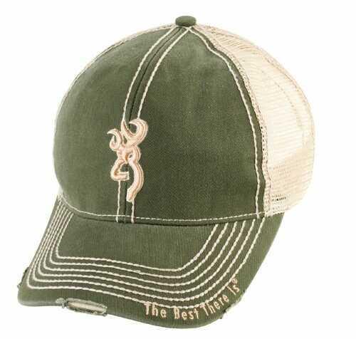 Browning Mesh Back Cap Olive
