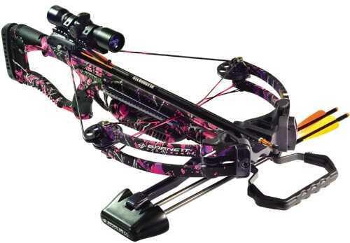 Barnett Lady Raptor Pink Pkg 4X-Scope/Arrows/Quiver
