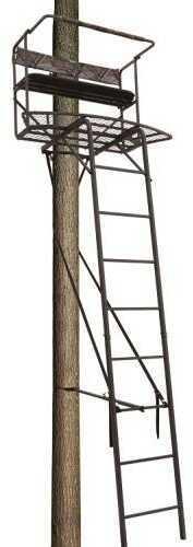 Big Dog Treestands Big Dog Tree Stand Ladder Convex 17.5Ft 2-Man Model: BDL-1080