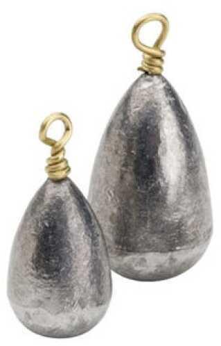 Bullet Weights Bullet Weight Saltwater Egg Lead 3/4oz 22pc Bag EGI6-24