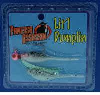 Bass Assassin Lures Inc. Bass Assassin Lures Inc Bass Assassin Lit'l Dumplin 1/16oz 1Jig 1Spr Salt & Pepper Md#: LD2PT336