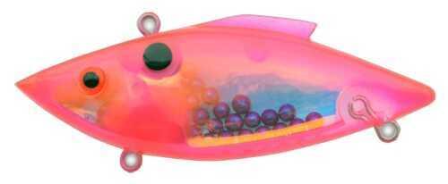 Bill Lewis Lures Bill Lewis Saltwater Magtrap 3/4 Super Nova Pink Trans MG-575S