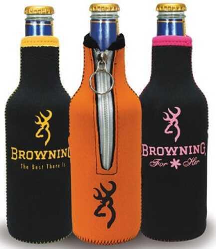 AES Outdoors Browning Bottle Coozie Black/Pink BR-BTL-Pink