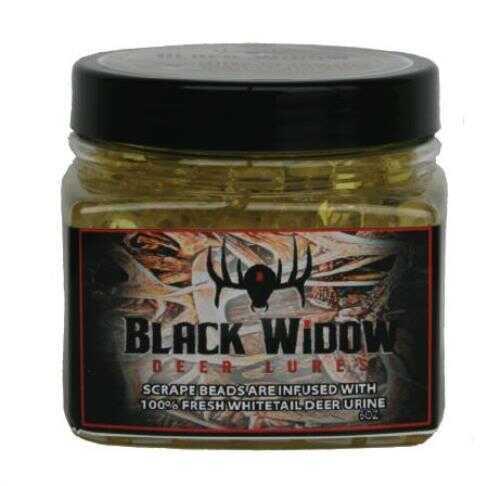 Black Spider Black Widow Deer Lure Scrape Master Scent Beads 6 Oz Model: S0441